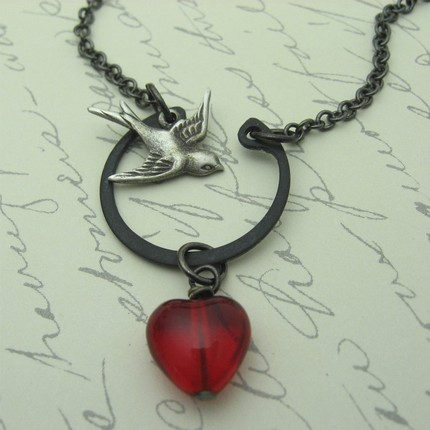 Rockabirdie necklace from Arete