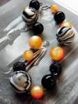 The Bride Vintage/Modern Acrylic Necklace