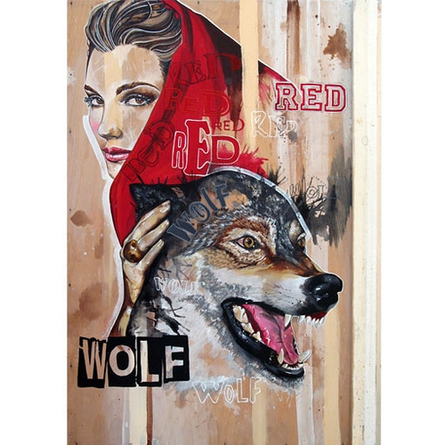 Red Wolf by Gemma Compton