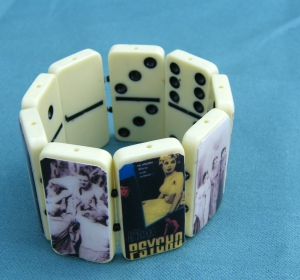 Classic Horror Movie Domino Strech Bracelet by More Everything
