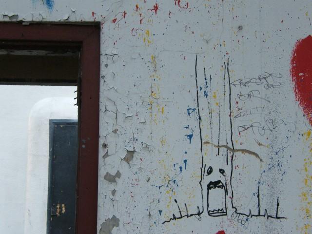 Screaming Man Graffiti