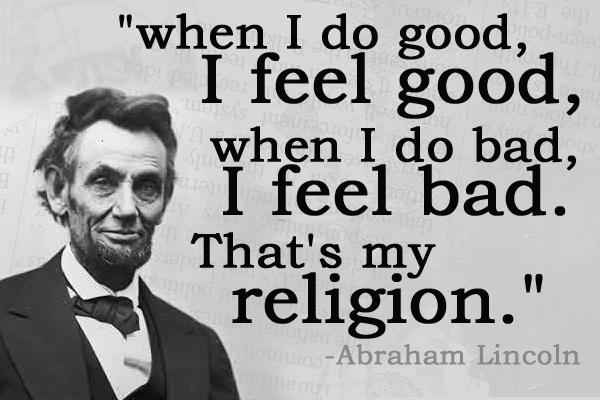 that's my religion