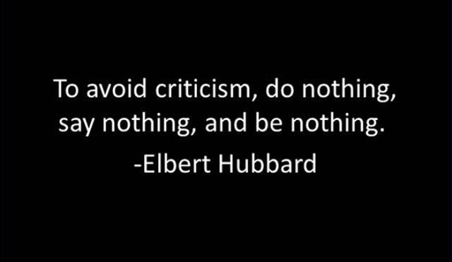 AvoidCriticism