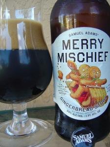 Sam Adams Merry Mischief Gingerbread Stout